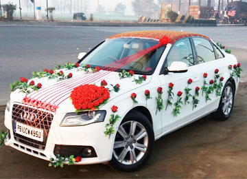 Wedding Car Rental Una Luxury Cars Bus Decorated Car Sharma